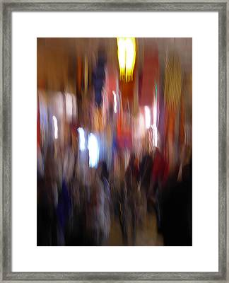 Les Couleurs Du Souk II Framed Print by Artecco Fine Art Photography