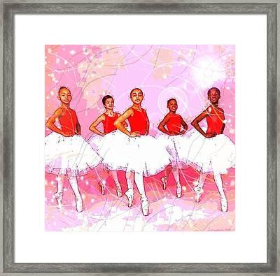 Les Danseurs Noirs Framed Print