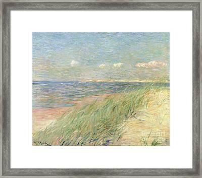 Les Dunes Du Zwin Knokke Framed Print