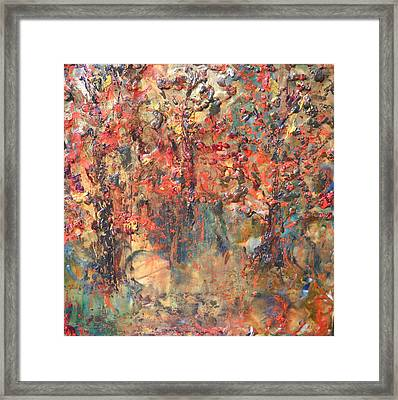 Les Feuilles Mortes Framed Print by Dawn Wilie