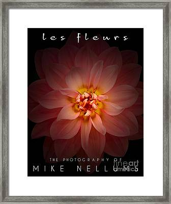 Les Fleurs Coffee Table Book Cover Framed Print