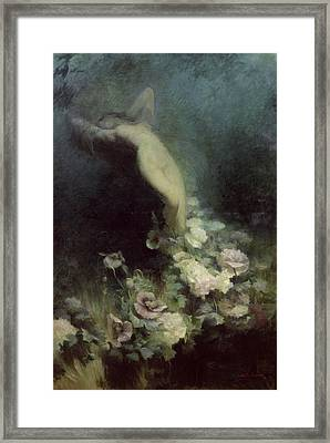 Les Fleurs Du Sommeil Framed Print