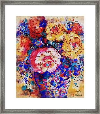 Les Fleurs Framed Print by Natalie Holland