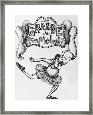 Les Grande De Pimplebutt Framed Print