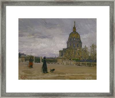 Les Invalides, Paris Framed Print by Henry Ossawa Tanner