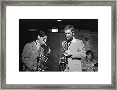 Les Lieber  Framed Print by The Harrington Collection
