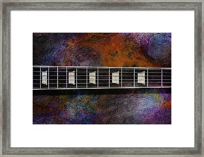 Les Paul Five Framed Print