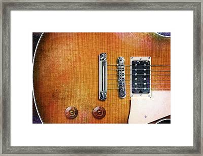 Les Paul One Framed Print