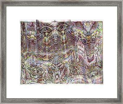 Les Yeux Sans Peur Framed Print by Jeremy Robinson