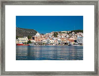 Lesbos Greece Framed Print by Emmanuel Panagiotakis