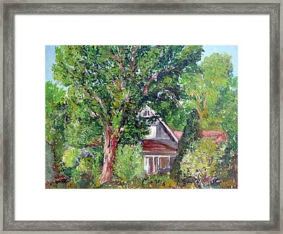 Lesher Homestead Boulder Co Framed Print