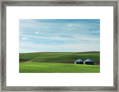 Less Is More. Framed Print