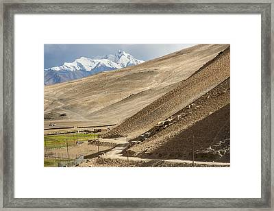 Less Traveled, Karzok, 2006 Framed Print