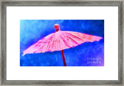 Lessons From The Storm Framed Print by Krissy Katsimbras