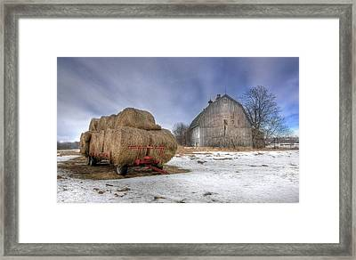 Let 'em Roll Framed Print by Lori Deiter