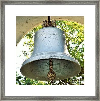 Framed Print featuring the photograph Let Freedom Ring ...  by Ray Shrewsberry