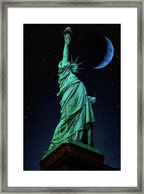 Framed Print featuring the photograph Let Freedom Ring by Darren White
