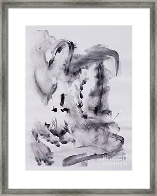 Let Go Of Your Id Framed Print
