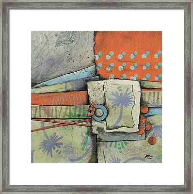 Let Go With A Gentle Breeze Framed Print