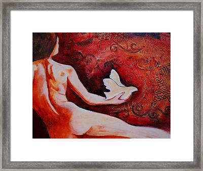 Let It Be Framed Print by Claudia Fuenzalida Johns