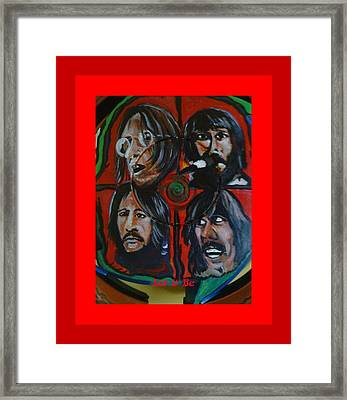 Let It Be Framed Print by Colin O neill