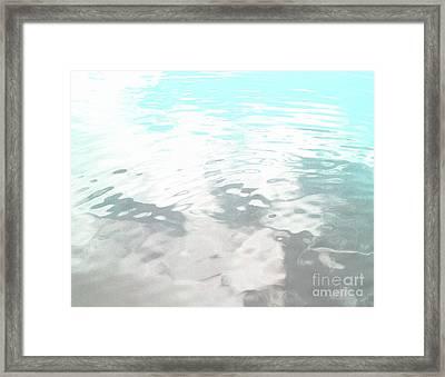 Let It Flow Framed Print