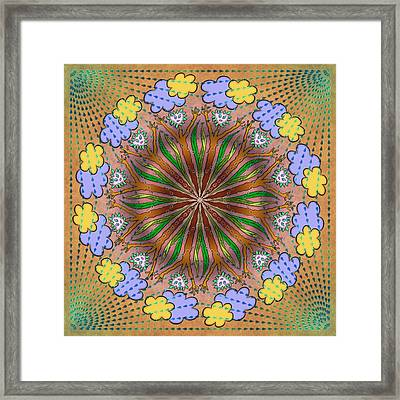 Let It Rain Framed Print by Becky Titus