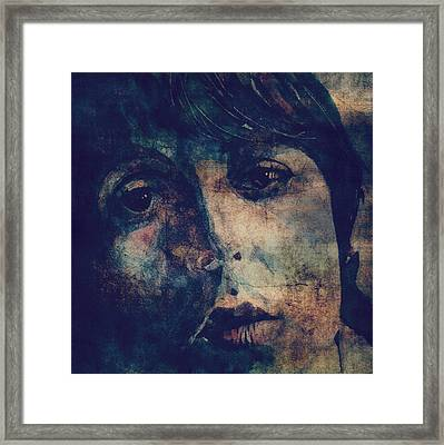 Let It Roll / 2 Framed Print by Paul Lovering