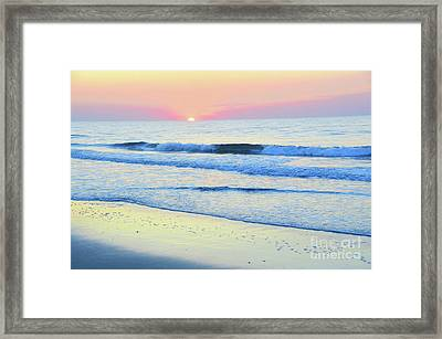 Let It Shine Framed Print by Robyn King