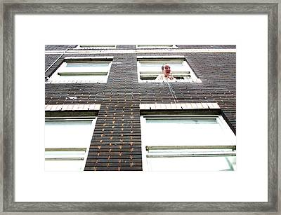 Let Me Out Framed Print by Jez C Self