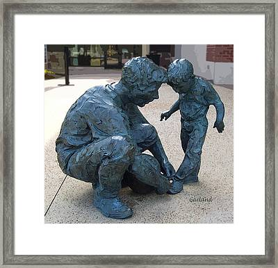 Let Me Show You How It Is Done Framed Print by Garland Johnson