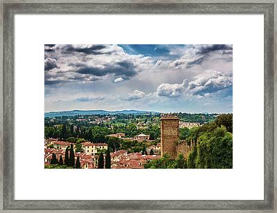 Let Me Travel To Another Era Framed Print
