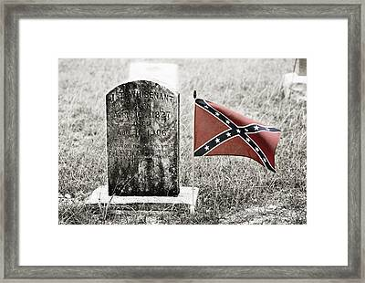 Let Racism Die Framed Print by Marilyn Hunt