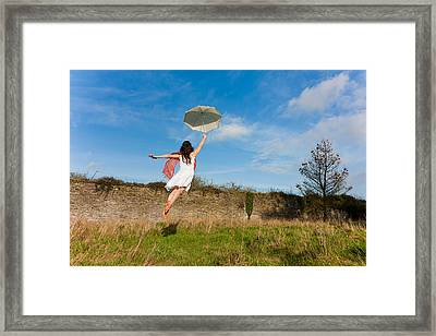 Let The Breeze Guide You Framed Print
