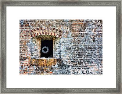 Let The Cannons Thunder Framed Print by JC Findley