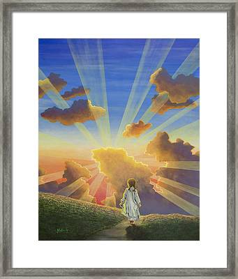 Let The Day Begin Framed Print by Jack Malloch