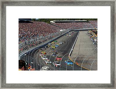 Let The Fun Begin Framed Print by Juergen Roth