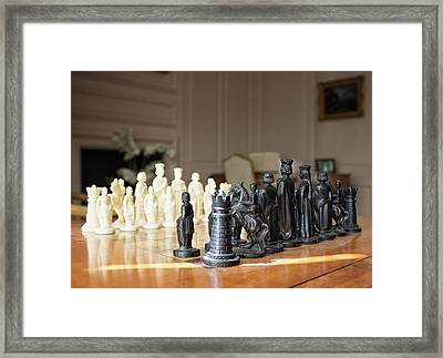 Let The Games Begin Framed Print