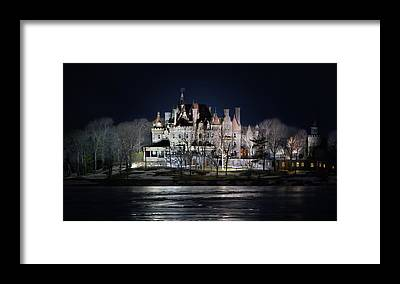 Boldt Castle Framed Prints
