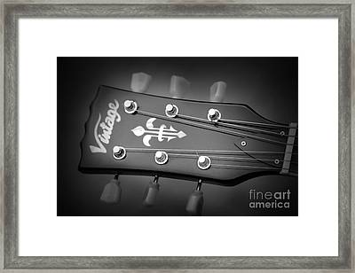 Framed Print featuring the photograph Let The Music Play by Baggieoldboy