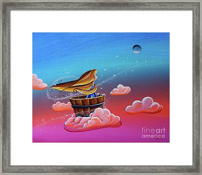 Let The Stars Take You There Framed Print by Cindy Thornton