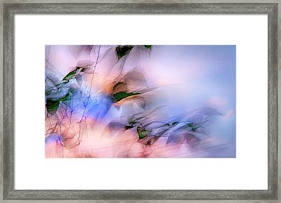 Let The Winds Of The Heavens Dance Framed Print by Theresa Tahara