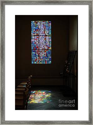 Let There Be Coloured Light... Framed Print by Nina Stavlund