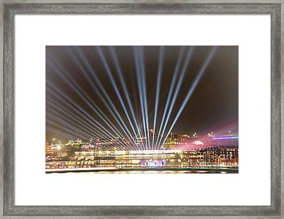Framed Print featuring the photograph Let There Be Light By Kaye Menner by Kaye Menner