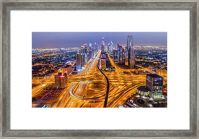 Let There Be More Light Framed Print by Akhter Hasan