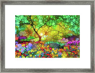 Let This Light Bring You Home Framed Print by Tara Turner