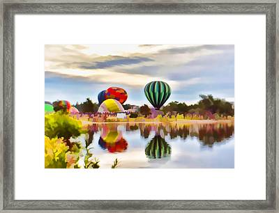 Let Your Heart Soar Framed Print