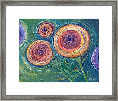 Be The Light Framed Print by Tanielle Childers