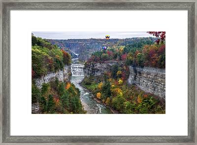 Letchworth Middle Falls Framed Print