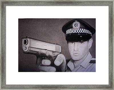 Lethal Force Framed Print by Brendan SMITH